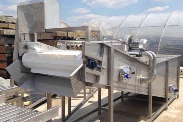 Manufactoring vegetable washing equipment